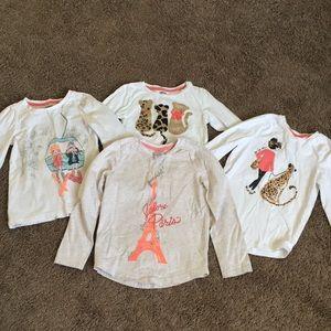 Set of 4 Gymboree Long Sleeve Shirts